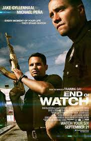 End of Watch (2012) movie poster