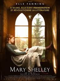 Mary Shelley (2017) movie poster