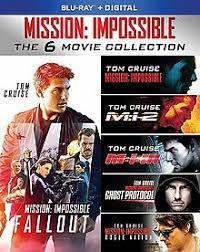 Mission Impossible – All Parts combine poster