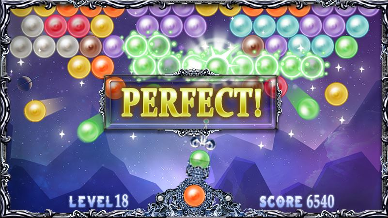 Shoot Bubble Deluxe in game image